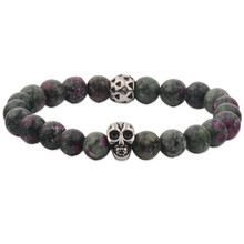 Wholesale Free Christian Raw Materials Skull Bracelets
