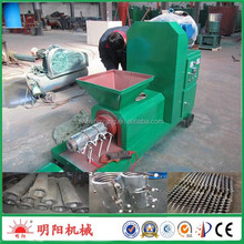 Factory direct sell rice hull industrial 200kg per hour biomass briquette extruding machine for fuel
