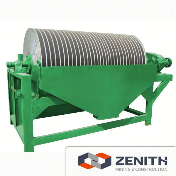 good selling Magnetic separator with crusher,mining iron ore process
