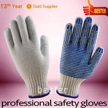 Cost price professional worker dress cotton knitted gloves