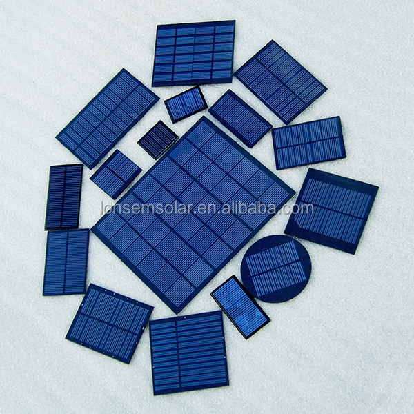 PV Mini Epoxy Resin Encapsulated Solar Panel 5.5V 6V 3V For Science Kits