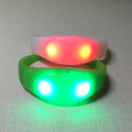 2018 hot sale party and event supplier led wristband light up led bracelet