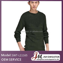 Guangdong clothing wool cashmere sweater fabric young men style