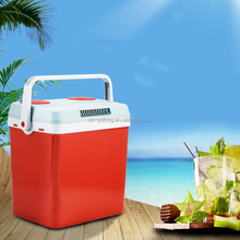 25L mini car fridge/ thermoelectric cooler & warmer box