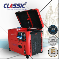 CLASSIC(CHINA) 6KW 6kva Silent Diesel Generator Set,Diesel Generator 6500w,Soundproof Diesel Generator Made In China