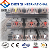 30kg/m American standard railway rail steel with best quality