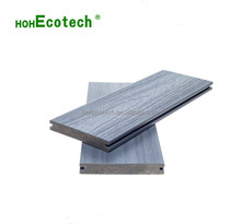 Outdoor Co-extrusion composite decking UV-resistant capped wpc decking solid co-extrusion wpc decking