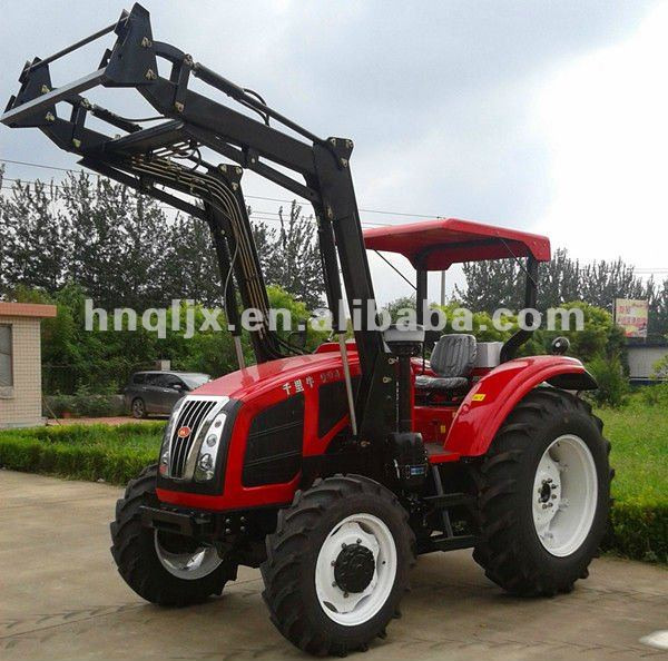 China new brand tractor 95hp 4wd tractor with loader for sale