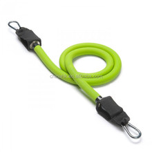 Stackable resistance bands/tube with Carabiner clips(Handles not included)