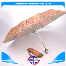 Wholesale cheap logo printing promotional Rain fold umbrella