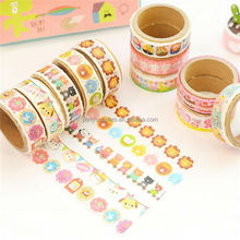 Floral washi tape diy decoration for scrapbooking masking tape adhesive tape kawaii stationery
