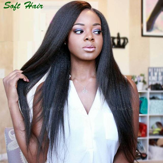 Alibaba Express Black braid Human Hair Kinky Straight Dreadlocks Lace Front Wig