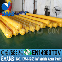 EM-6925 lake inflatable water slides, inflatable floating water park, inflatable water barrier