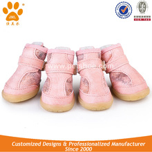 JML Leather Winter Pet Dog Protective Boots for Snow