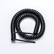 High quality 3 core spiral cable PUR insulated flexible