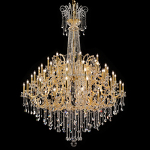 Italy Design Big Glass Ar Light Lusters De Cristal Modern Chandeliers Lights Fixture for Dining Living Room CZ6101/54
