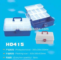 China fishing tackle box H0415 & plastic lunch box