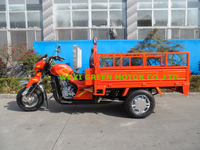 150cc tipper cargo tricycle made in china