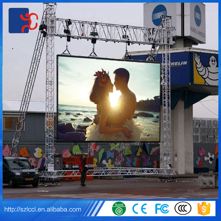 High quality RGB indoor P2.5 P3 P4 P5 P6 P7.62 P10 SMD full color led display module
