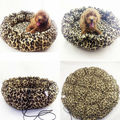 Round cat dog shrinkage pet nest, the thickened section,Pet products