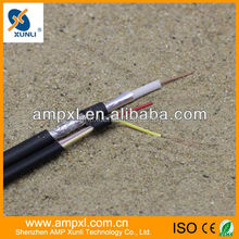 CE/ROHS/ISO9001 Approved 0.8mm Copper Cable RG59 CCTV Cable TV Cable Free Sample To Test