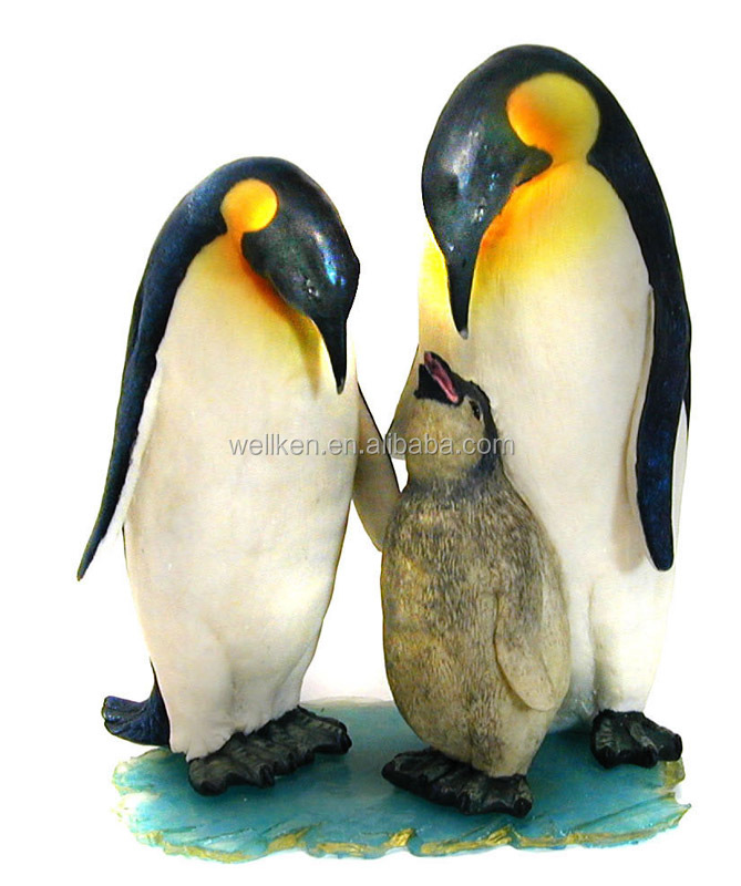 polyresin Penguin statue,polystone penguin model,resin animal figurine