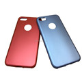 Colorful Rubber Oil Coated Soft Matte TPU Case For Iphone x 8 7 6 Back Cover Housing