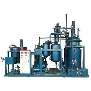 Waste Engine Oil Recycle Purifier Equipment by Oil Recycling Distillation