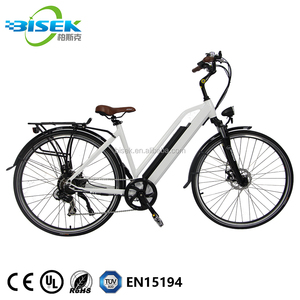 China Made Cheap 2018 Europe 700C Electric City Bicycle Adult Road Bike On Sale