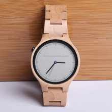2017 China Suppliers Luxury Timepieces Dropship Wooden Watch