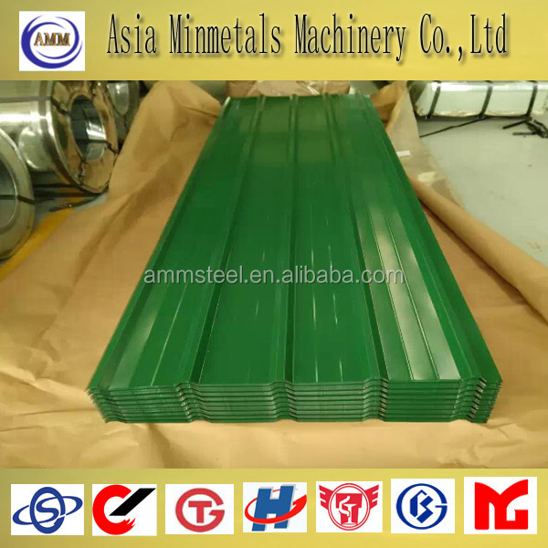 prepainted corrugated galvanized metal roofing sheet