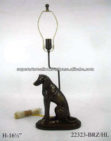 Dog Statue Table Lamp