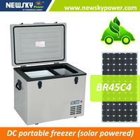 alibaba china home appliance 50 litre mini fridge 12 volt refrigerator compressor fridge solar fridge