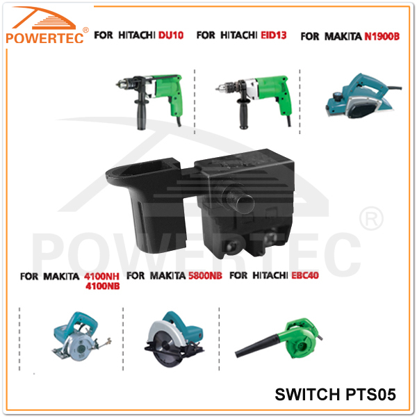 POWERTEC power tools spare parts,electric power tool switches