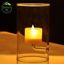 *Use these beautiful glass bubbles with your own decorating ideas for your wedding ** geometric gold 4 inch glass candle holders