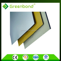 Greenbond aluminium fireproof panel used for office partition decoration