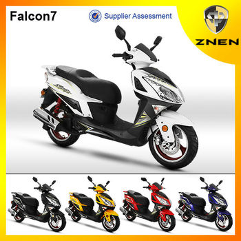 ZNEN 50CC 125CC 150CC cheap sport gasoline scooter for sale FALCON 7 150CC