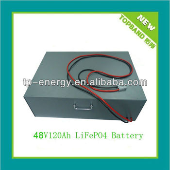LiFePO4 Battery Pack 48V 120Ah with BMS