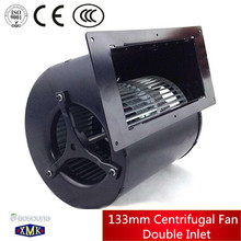 Hot sale!133mm AC Double inlet radial centrifugal fan