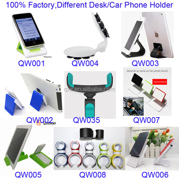 foldable desktop cell phone stand for iPhone pad
