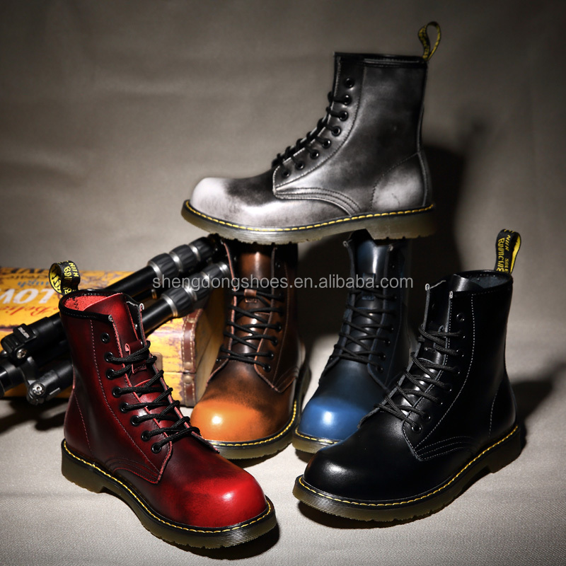 New winter model oil wax leather high cut snow <strong>boots</strong> for man 2018