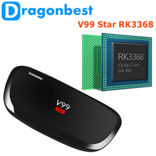 Factory directly sell V99 Star RK3368 2G 16G V99 Star tv box with high quality Android 5.1 Smart TV Box