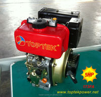 small 173F air cooled 5hp motor diesel