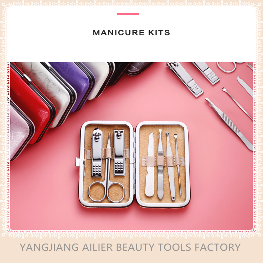 Nail Clippers Kit 7-in-1, Mini High Quality Stainless Steel Best Mini Manicure And Pedicure Set, All For Manicure Personal Care