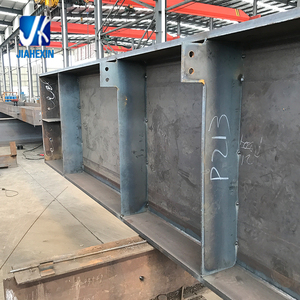 Weld structural steel beams and columns welding steel structure steel construction