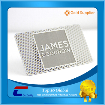 Durable frequency metal card 05mm thickness aluminum emboss gold durable frequency metal card 05mm thickness aluminum emboss gold letter metal cards reheart Choice Image