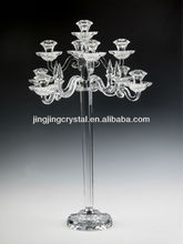 Crystal candle holder for india with high quality in chinese style