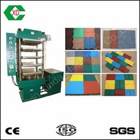 CE approved rubber tile making machine