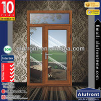 Germany design aluminium clad wood door for entrance main door