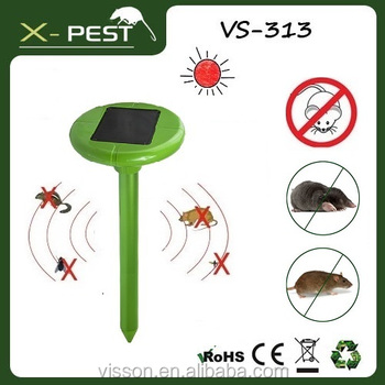 VS-313 Solar mouse deterrent homebase,electric animal trap